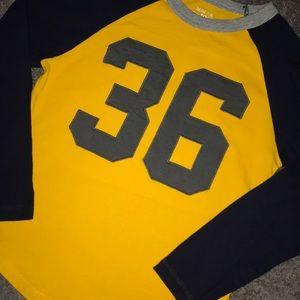 Children's Place baseball shirt